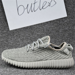 Wholesale 2017 Adidas Original Yeezy Boost Yeezy Sneakers Yeezy Kanye Milan West Running Shoes for Men Fashion Trainers Shoes With Box