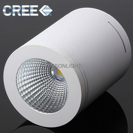 cree surface mounted led ceiling light dimmable led downlight cob led plafon spotlight ceiling spot light ip44 12w flush mount ceiling lamp ceiling mounted spot lighting