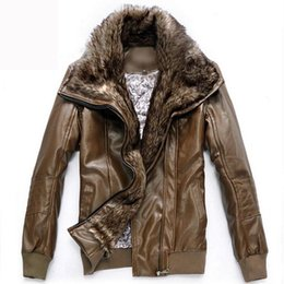 Discount Leather Bomber Jacket Brown Xl   2017 Leather Bomber ...