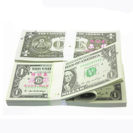 50pcs Set Usa 1 Dollars Paper Money Trainings 1 1 Banknotes Bank Staff Learning Training Banknotes