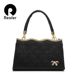 discount designer frames bags wholesale realer designer women tote bag with a cute bow 2016