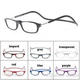 Wholesale New Reading Glasses Folding Reader Glasses Neck Hanging Eye Glasses Eight Colors
