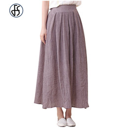Long Slim Maxi Skirt Cotton Online | Long Slim Maxi Skirt Cotton ...