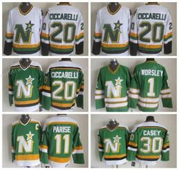 ... coupon code throwback men 20 dino ciccarelli jersey dallas stars ice  hockey 1 gump worsley 11 ... 5549f03d4