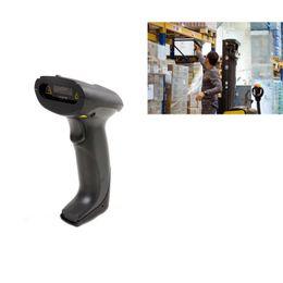 ¡Acción de los EEUU! 2.4GHZ USB inalámbrico de alta velocidad CCD 1D Etiqueta Barcode Scanner Bar Code Gun Reader