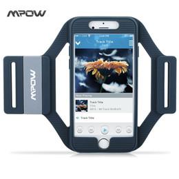 Mpow MSA5 Deportes corriendo entrenamiento Silicona brazalete cubierta de la caja con correas de extensión para el iPhone 6s / 6