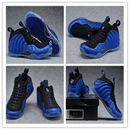 online shopping New Foams One Royal Men Basketball Shoes air Penny Hardaway Dark Red Foam One Pro Silver Running Sneakers Athletic size