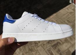 Wholesale Livraison rapide tout neuf chaussures stan chaussures de sport smith hommes décontractés hommes chaussures de sport chaussures de course chaussures de jogging plates classiques