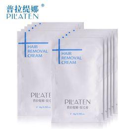 Plus nouveau PILATEN Crème dépilatoire Crème dépilatoire sans douleur pour la jambe / l'aisselle / corps 10g crème dépilatoire