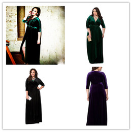 2017 fine women Europe to stand in the fall and winter of 2017 the new Europe and the United States fine elegant fashion sexy long-sleeved dress XXXL - 5 l cheap fine women