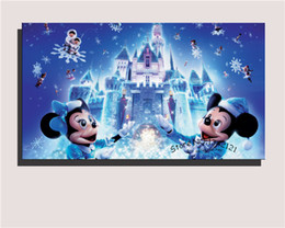 decorative painting pattern princesses cartoon beautiful wall art poster stretched framed decor childrens room decorative painting decorative wall painting - Decorative Painting