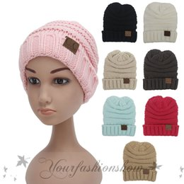 2017 baby adult cap hat Fedex DHL Free Baby Fashion Crochet Knitted CC Beanie Girls Autumn Casual Cap kids Warm Winter Hats children Casual Hat Z658 baby adult cap hat outlet