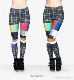Wholesale 2017 Leggings de la manera de la impresión de la manera para las mujeres Polaina libre del tamaño Polainas suaves pantalones leggings florales de la yoga para el gimnasio de las mujeres Ningún patrón de la señal