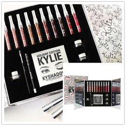 Natal mais novo Kylie cosméticos Holiday coleção grande caixa PREORDER INTERNATIONAL Holiday coleção grande caixa de frete grátis