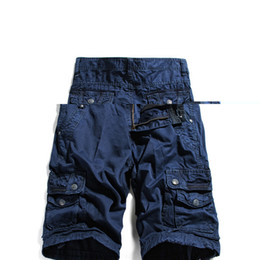 Discount Mens Knee Length Cargo Shorts | 2017 Mens Knee Length ...