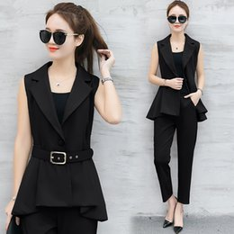 Discount Women Business Suits Vest | 2017 Women Business Suits ...