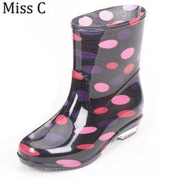 Discount Rain Boots Polka | 2017 Polka Dots Rain Boots on Sale at ...