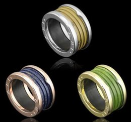 blue brown green imitation marble thread ring spring pattern couple male and female ring - Male Wedding Ring