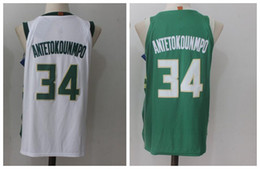 ae768c338956 2018 Season New  34 Giannis Antetokounmpo Men Basketball Jersey 2018 New  Best Quality Jersey Embroidery Stitched Logos Jersey cheap basketball jersey  34 ...