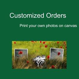 Custom Canvas Prints Современное домашнее оформление Живопись Art Panel Piece Модульные настенные рисунки для гостиной Оптовая Дешевые фото
