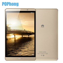 Discount huawei phone otg Wholesale- Original Huawei mediapad M2 3GB RAM 16GB ROM 8 Inch Metal Phone Call Tablet PC Hisilicon Kirin 930 Octa Core Android 5