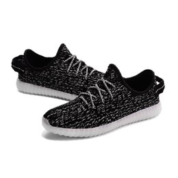 Zapatos de LED de alta luz de colores zapatos intermitentes con carga USB Unisex pareja fluorescente para el partido y el deporte de los zapatos ocasionales forcity ventas