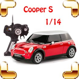 wholesale new year gift 1 14 mini cooper s rc remote control toy car big sedan car electric drive vehicle cute kids family cool present