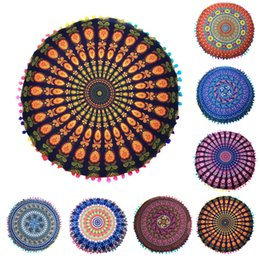 Mandala Indian Ombre Pillow Case