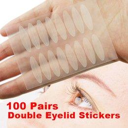 Wholesale Vente en gros paires de couleur de la chair des paupières Tapes Eye Talk Double paupière technique Oeil Maquillage Autocollants Outils de beauté Hot Sale