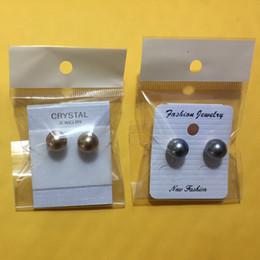 brincos de alta qualidade para as mulheres diferentes brincos opcional cor pérola parafuso prisioneiro de jóias de prata anti-alérgicas frete grátis atacado - 0003LDE