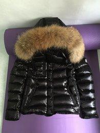 Wholesale Sweat à capuche en fourrure noire pour femme