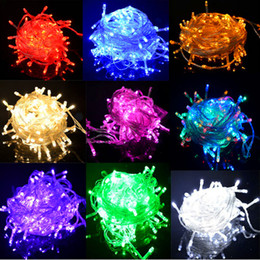 x5pcs ePacket ship Christmas crazy selling 10M 100 LED string Decoration Light 110V 220V For Party Wedding led christmas twinkle lighting from purple star light manufacturers