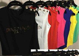 En stock ! Marque PARIS Avec GOLD LABEL Tee shirt Femme Top T-shirt Coton Pour Femmes