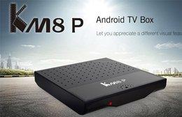 online shopping 2016 NEW KM8 P Android TV BOX RK3368 bits Octa core GB GB AP6335 Dual Wifi Gigabit Lan K KODI installed I TB
