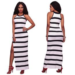 Striped maxi dress uk