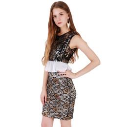 Discount Plus Size Sequin Bodycon Dress | 2017 Plus Size Sequin ...