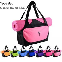 Multifunctional yoga bag, fitness mat, yoga backpack waterproof, supplies bag, yoga mat bag (yoga mat not included)