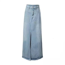 Button Front Denim Skirt Online | Button Front Denim Skirt for Sale