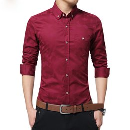 Discount Mens Woven Dress Shirt | 2017 Mens Woven Dress Shirt on ...