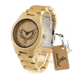 engraved watches for men online engraved watches for men for bobo bird bamboo wooden watches for men engrave deer head wood band quartz watch accept oem customization as gift