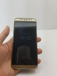online shopping DHL Goophone S8 edge Android Smartphones G RAM G ROM Shown GB GB bit Dual sim Unlocked Cell Phones Clone Phones