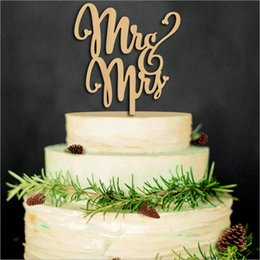 Discount Wedding Decorations Materials The Wood Material Wedding Cake  Inserted Card Wedding Cake Inserted Personalized Wedding