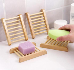 Shipping Fashional Bathroom Soap Tray Handmade Soap Dish Wood Dish Box Wooden Soap Dishes As Holder Home Accessories Wooden Bathroom Accessories Outlet