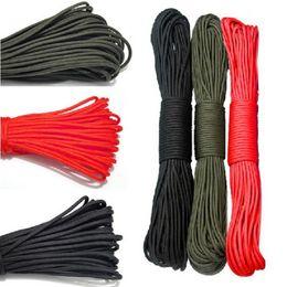 1Pc 31m Outdoor Parachute Corde Survival Corde Simple Fil Corde F00026 SMR