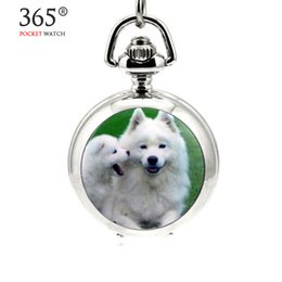 mens pocket watches online mens pocket watches for for whole new lovely dog pocket watch quartz 1pcs lot shipping hot mens womens ladies antique silver pendant necklace vine