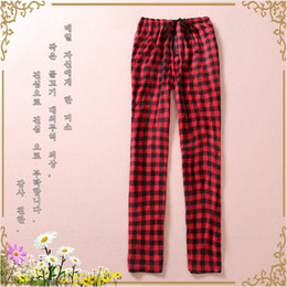 Red Plaid Pants Women Online | Red Plaid Pants For Women for Sale