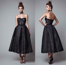 Tea Length Wedding Dresses Sweetheart Neckline Online - Tea Length ...