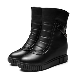 Discount Elegant Black Flat Women Boots | 2017 Elegant Black Flat