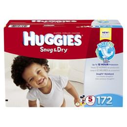 2 Box 344 Count Huggies Snug Dry Couches pour bébés Economy Plus Pack (TAILLE 5)