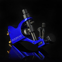 Wholesale Machine de tatouage rotative professionnelle Blue Stigma Bizarre V2 Tatoo Guns Machine Swiss Motor Tattoo Equipment Supply Livraison gratuite